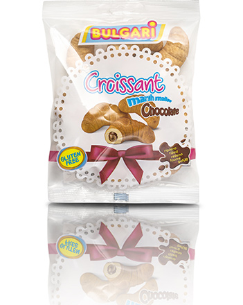 Marshmallow croissant chocolate 150 g