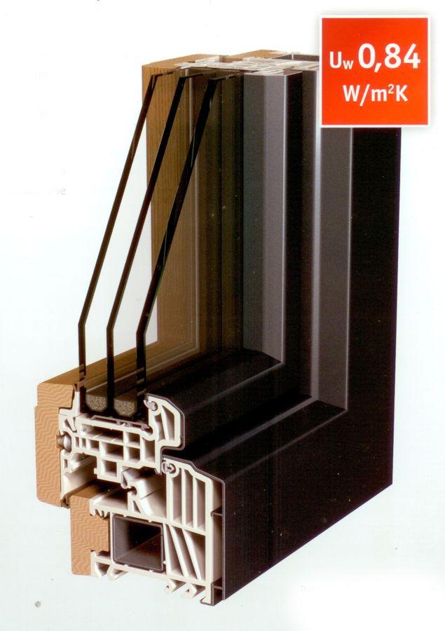 Elegant amazing un sistema collaudato di aggancio a scatto for Finestre legno pvc