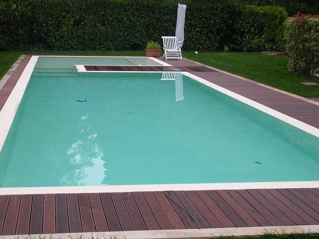 Costruzione piscine interrate lago di garda system blue - Costruzione piscine brescia ...