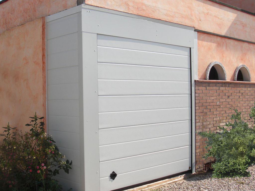 Allungamento garage for Ampio garage per auto