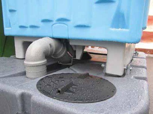 Noleggio bagno chimico mobile con turca idraulica sifonata - Noleggio bagno chimico ...