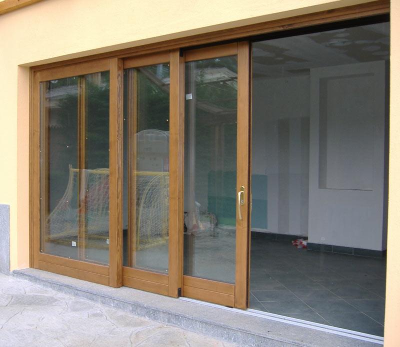 Serramenti scorrevoli brescia - Porta garage scorrevole ...