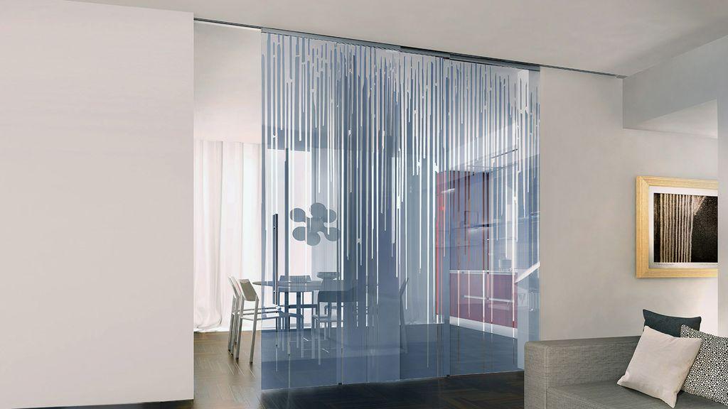 Porte in vetro casali brescia - Porte di vetro scorrevoli per interni ...
