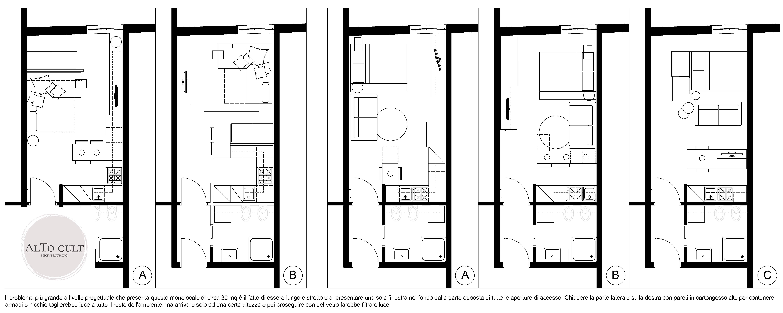 Progetto Appartamento 50 Mq re-everything