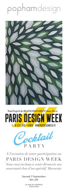 POPHAM DESIGN | Paris Design week