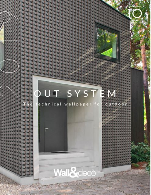 Wall&decò | New OUT SYSTEM & WET SYSTEM Collections 2019
