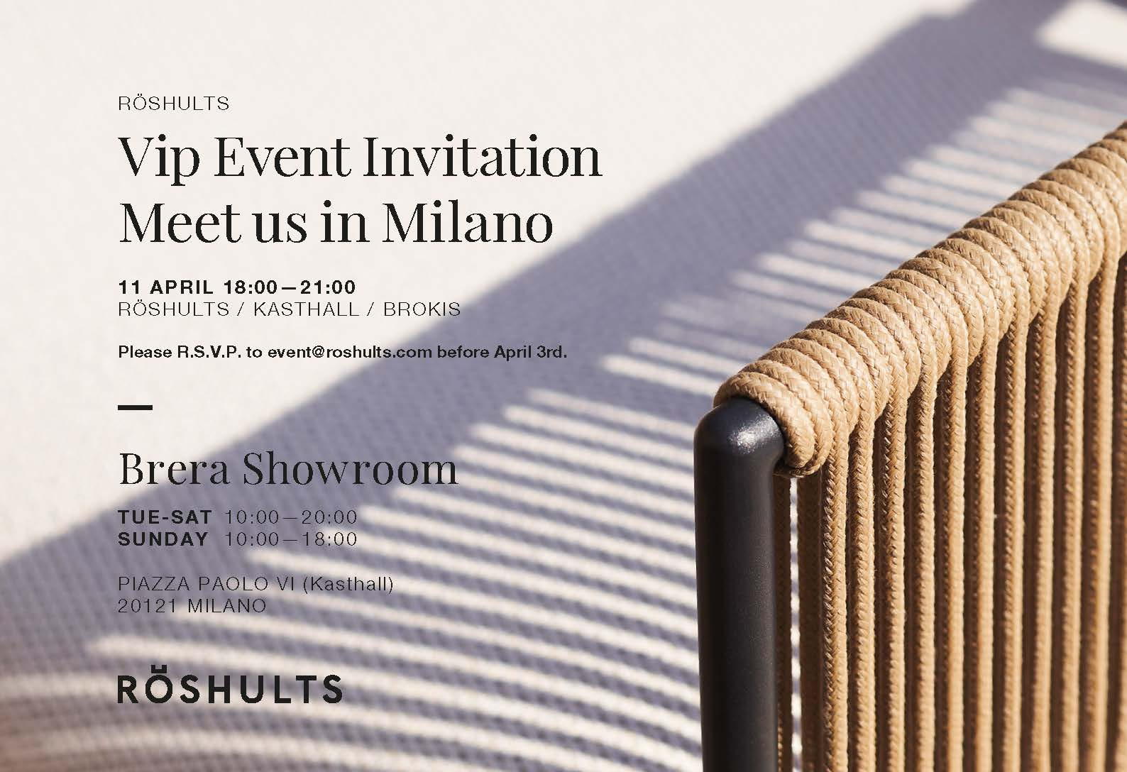 RӦSHULTS  | SALONE DEL MOBILE 2019 Milan