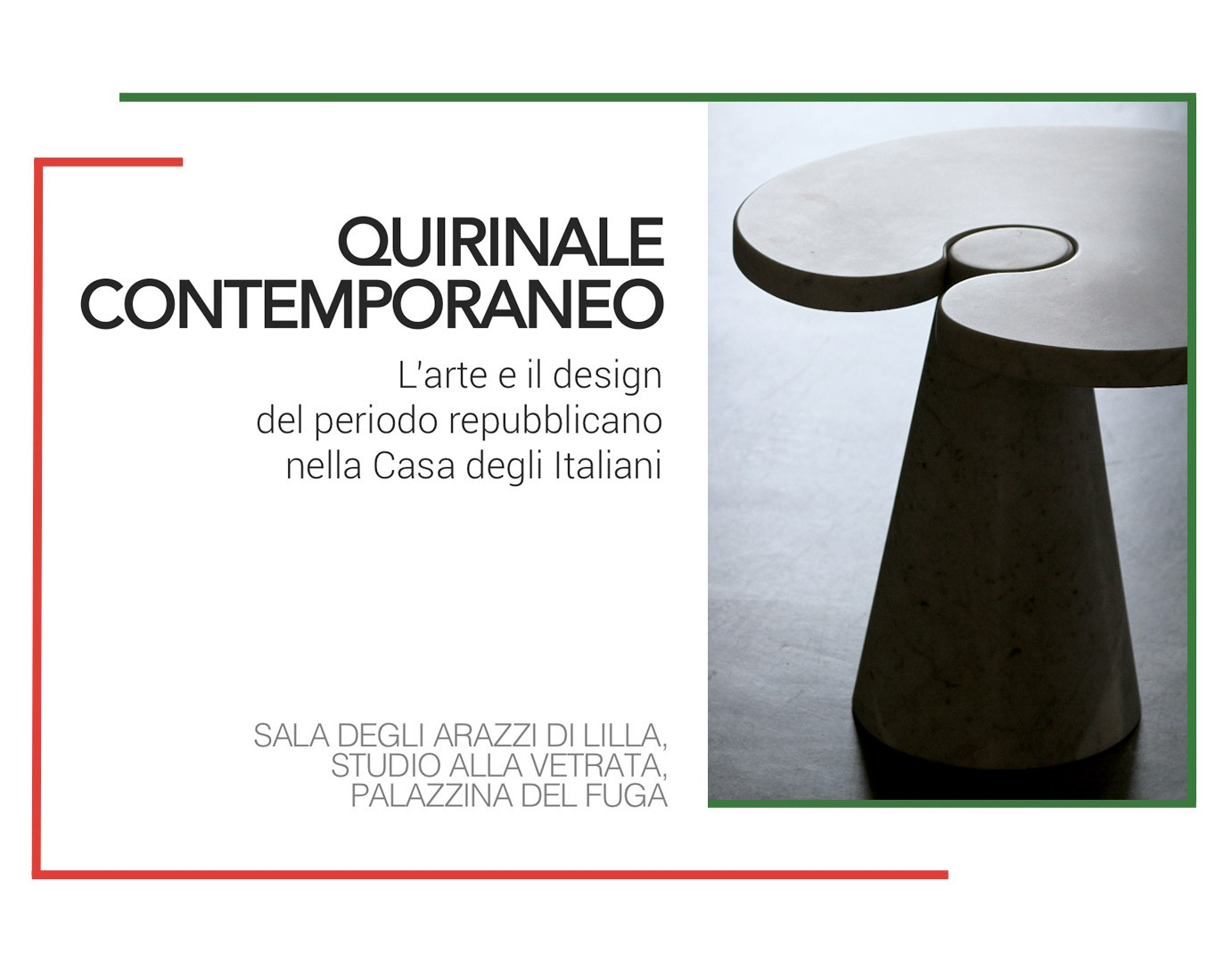 Agapecasa and the Mangiarotti Collection at the Quirinale