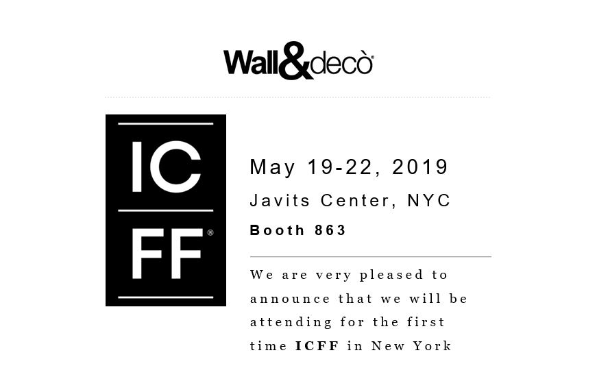 Wall&decò at ICFF NY 2019