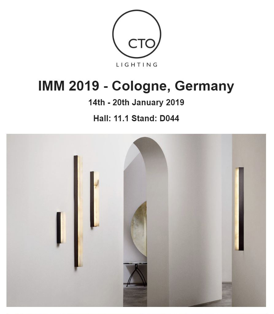 CTO lighting at IMM Cologne January 2019