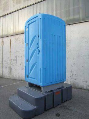 Noleggio bagno chimico mobile con turca idraulica sifonata - Bagno chimico cantiere ...