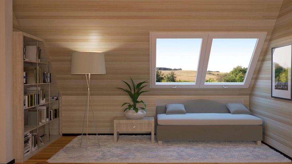 Serramenti legno alluminio brescia for Tende per finestre sottotetto